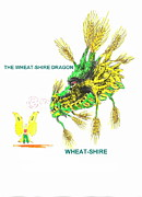 Banksyno2 - THE WHEAT-SHIRE DRAGON...
