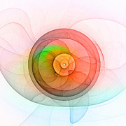 Color Wheel Art Prints - The Wheel 2 Print by Stefan Kuhn