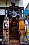 """juke Joint"" Framed Prints - The Whistle Bar Key West Framed Print by Rebecca Korpita"
