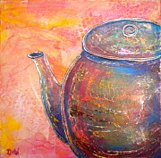 Tea Kettle Posters - The Whistler Poster by Debi Pople