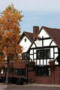 Stratford Art - The White Swan Stratford by Terri  Waters