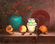 Jeanene Stein - The White Vase Still Life