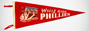 Baseball. Philadelphia Phillies Framed Prints - The Whiz Kids Framed Print by Bill Cannon
