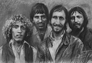 Rock  Drawings - The Who by Viola El