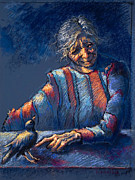 Crows Pastels - The Widows Friend by Ellen Dreibelbis