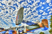 Fuselage Framed Prints - The Wild Blue Yonder 2 Framed Print by Mel Steinhauer