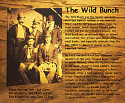 Butch Cassidy Posters - The Wild Bunch Poster by Camillus S Fly