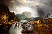 Thomas Moran - The Wilds of Lake Superior by Thomas Moran