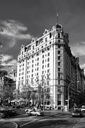 Washington Art - The Willard Hotel by Olivier Le Queinec