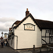 Stratford Art - The Windmill Inn Stratford by Terri  Waters