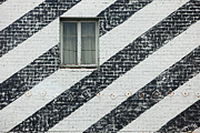 Stripe.paint Photo Prints - The Window Print by Art Block Collections