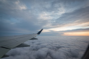 Airlines Photo Originals - The Window Seat by Michael Ver Sprill