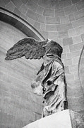 Nike Metal Prints - The winged victory Metal Print by Patricia Hofmeester