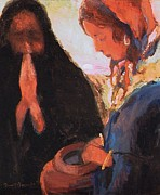 Samaritan Paintings - The Woman at the Well by Daniel Bonnell