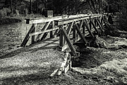 Hannes Cmarits Metal Prints - The Wooden Bridge Metal Print by Hannes Cmarits