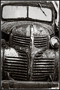 Rusted Cars Posters - The Work Truck Edition 3 Poster by Roxy Hurtubise