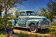 Chevy Pickup Framed Prints - The Work Truck Framed Print by Ken Smith