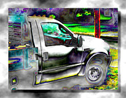 Contemporary Digital Art - The Workhorse by Wendy J St Christopher