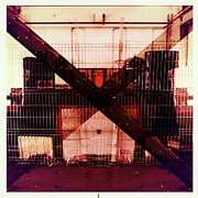 Hipstamatic Framed Prints - The X Framed Print by Marco Oliveira