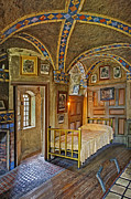 Vintage Prints - The Yellow Room At Fonthill Castle Print by Susan Candelario