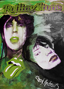 Rolling Stones Mixed Media Posters - The Young and The Restless Poster by Cheryl Andrews