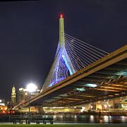 Joann Vitali - The Zakim over Paul Revere Park - Boston
