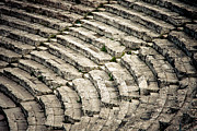 Greek Theater Framed Prints - Theatre at Epidaurus Framed Print by Gabriela Insuratelu