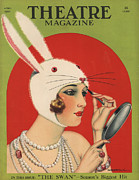 Theatre Magazine 1924 1920s Usa Print by The Advertising Archives