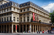 Outdoor Theater Prints - Theatre of the Comedie Francais in Paris Print by Mountain Dreams