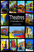 Warner Park Metal Prints - Theatres of Washington DC Metal Print by Jost Houk