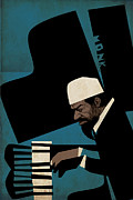 Cut Out Mixed Media - Thelonious Monk by Thomas Seltzer