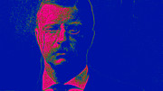 Moustache Digital Art Prints - Theodore Roosevelt 20130610 Print by Wingsdomain Art and Photography