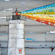 Lighthouse Mixed Media - There Is A Light That Never Goes Out by Danny Phillips