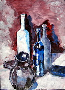 Iconic Paintings - There is beauty in glass by Errol  Jameson