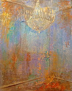Chandelier Originals - There is light in the room by Delona Seserman