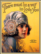 Magazine Cover Digital Art - There must be a way to Love You by Rolf Armstrong