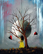Fantasy Tree Art Print Art - Theres Always Tomorrow by Shawna Erback by Shawna Erback