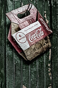 Food And Beverages Photos - Theres Nothing Like A Coke by Susan Candelario