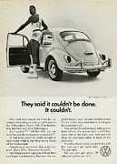 Vw Bug Prints - They Said it Couldnt be Done Print by Nomad Art And  Design