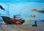 Lazaro Hurtado - They..in the harbors...