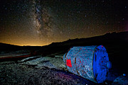 The Milky Way Prints - Theyve Landed Print by Peter Tellone