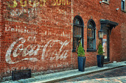 Old Mills Photos - Things Go Better With Coca Cola by Tricia Marchlik