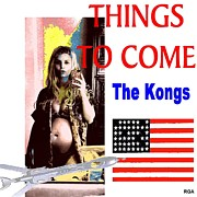 Record Digital Art Originals - Things To Come by Francis Seibert