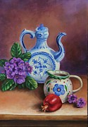 Teakettle Framed Prints - Things to Remember Framed Print by Elvira Kravenkova