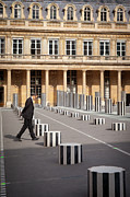 Thinking - At Palais Royal Print by Brian Jannsen