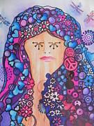 Thinking  Print by Chrisann Ellis