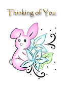 Jeanette K - Thinking of You Rabbit