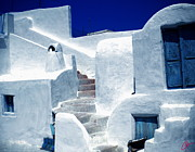 Colette Photos - Thirasia island Ancient House near Santorini Greece by Colette V Hera  Guggenheim
