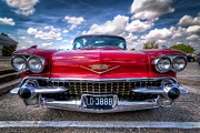 Car Pictures Framed Prints - This Eldorado is All Business Framed Print by Tim Stanley
