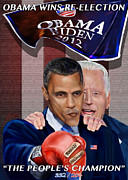 Joe Biden Paintings - This Is A Big ------- Deal by Reggie Duffie
